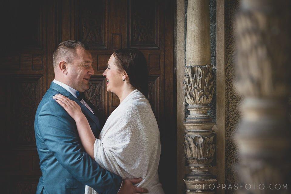 Sesja ślubna w Zamku w Gołuchowie - Krzysia i Przemek 11