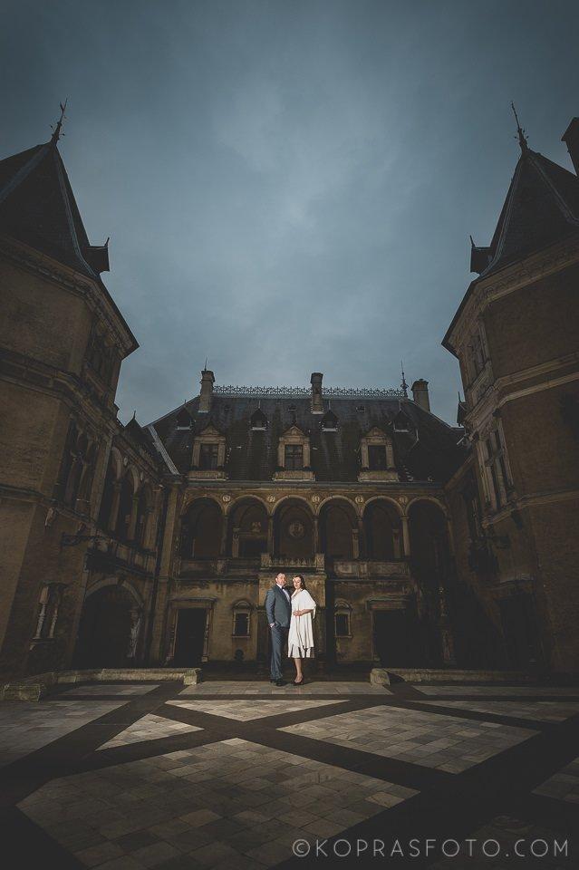 Sesja ślubna w Zamku w Gołuchowie - Krzysia i Przemek 29
