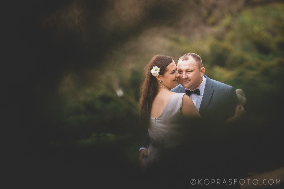 Sesja ślubna w Zamku w Gołuchowie - Krzysia i Przemek 35