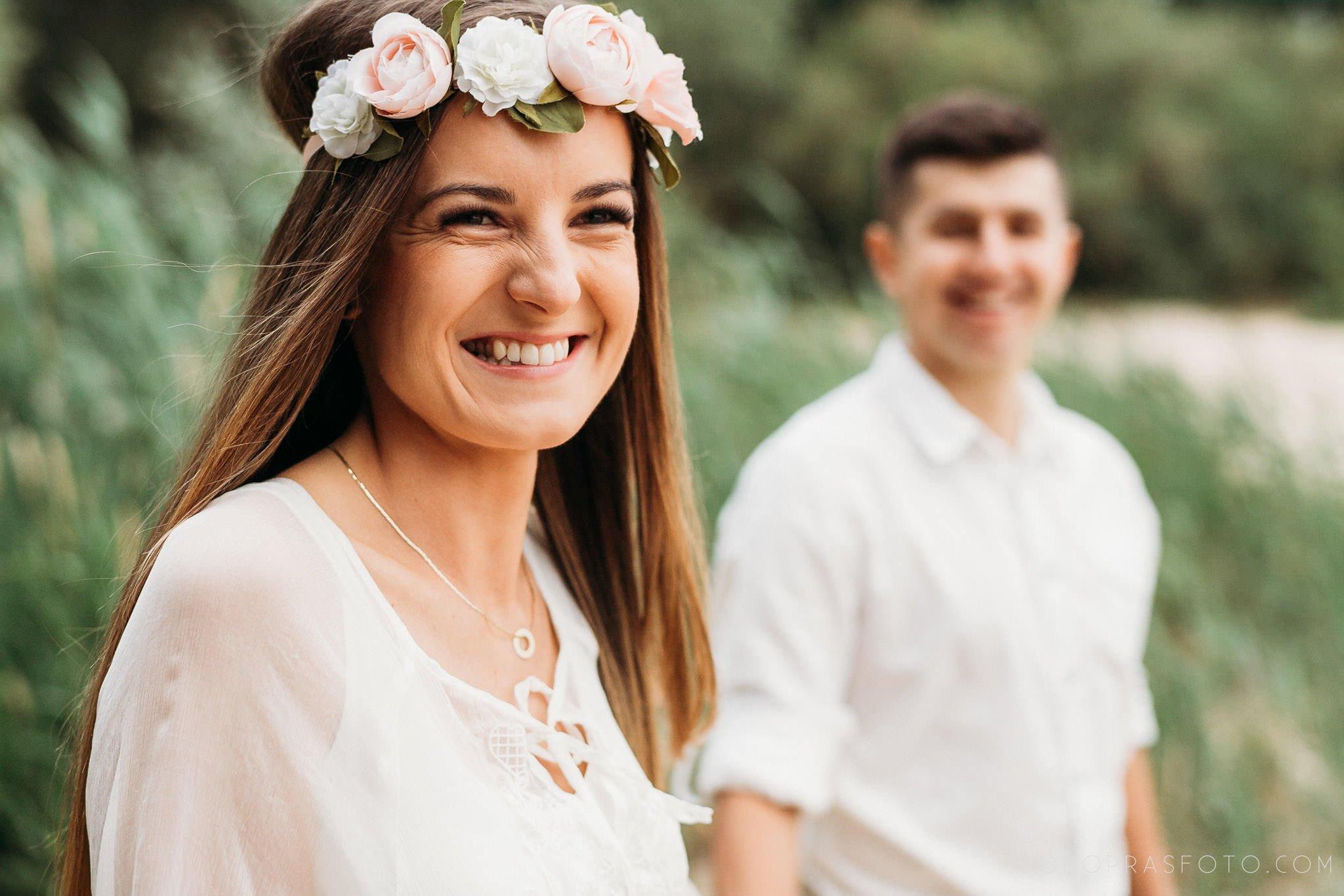 Ewa i Konrad - sesja narzeczeńska nad jeziorem 36