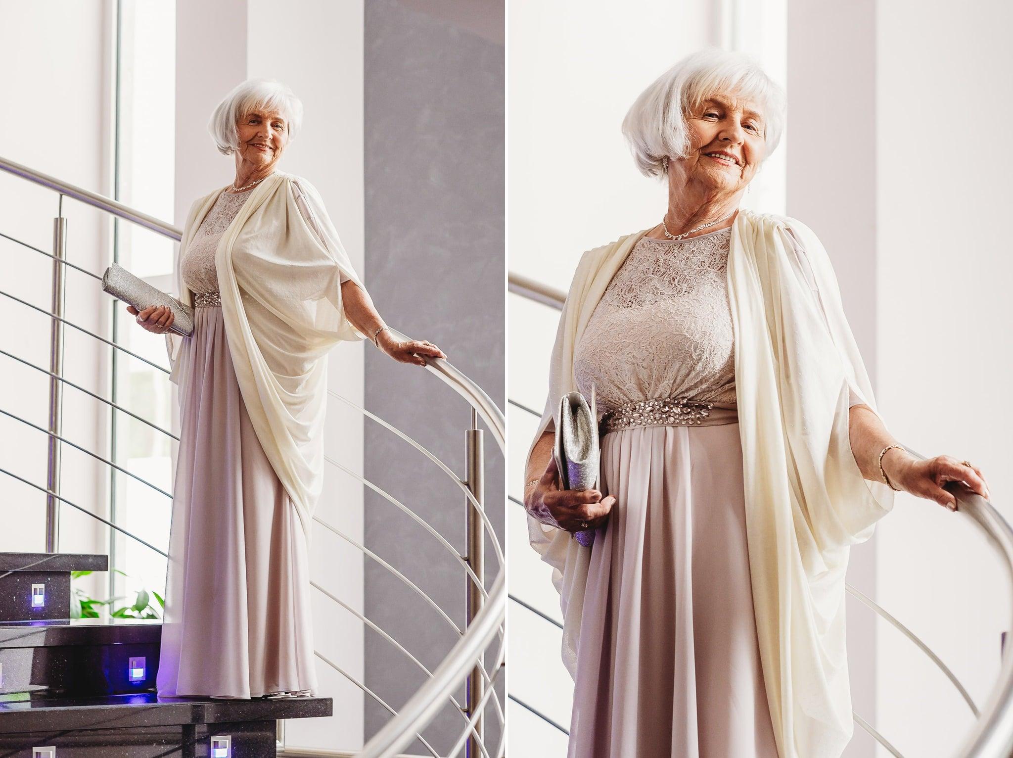 hotel papaver, piękne zdjęcie seniora, elegancka pani,