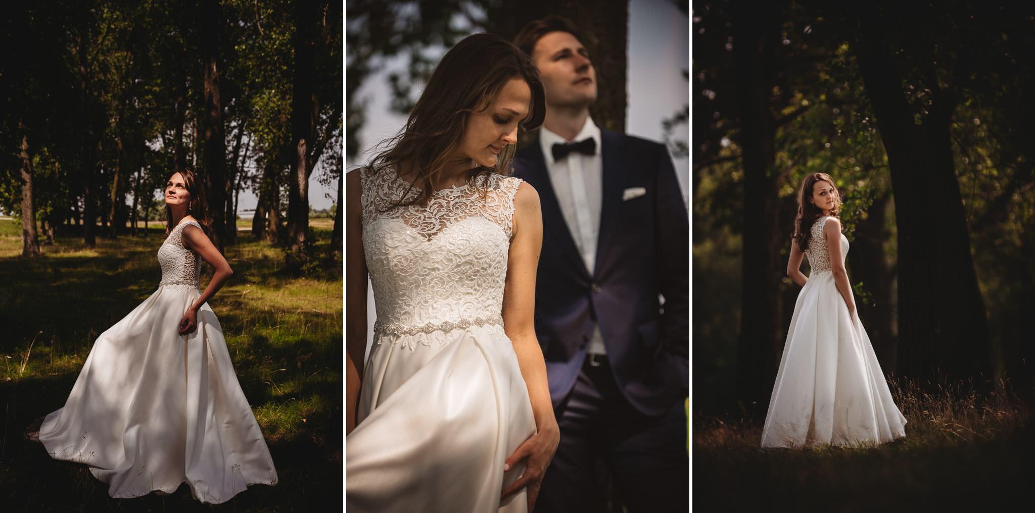 Monika i Michał, wesele w Paryżu i sesja plenerowa w stadninie koni w Czołowie 324