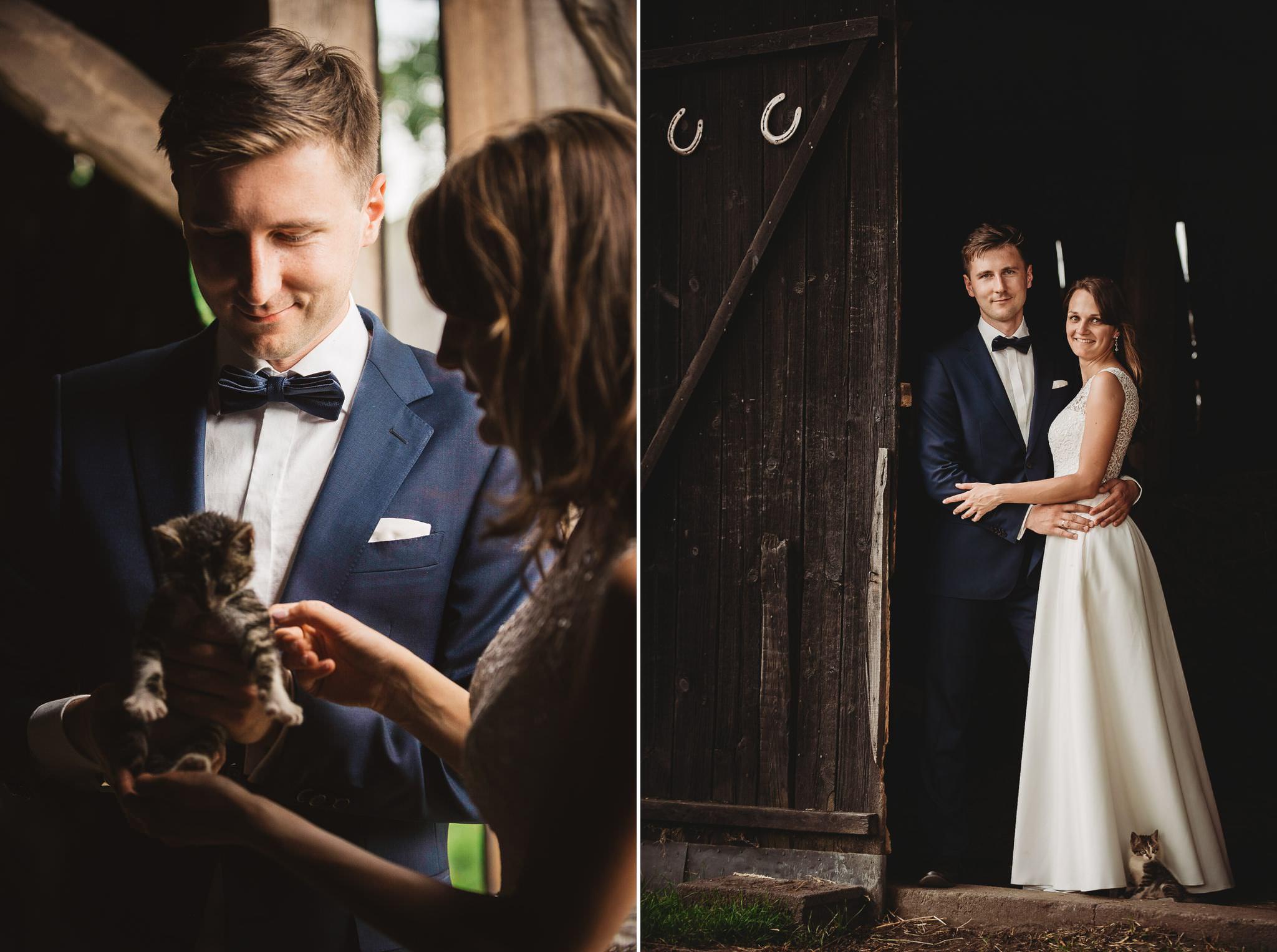 Monika i Michał, wesele w Paryżu i sesja plenerowa w stadninie koni w Czołowie 356