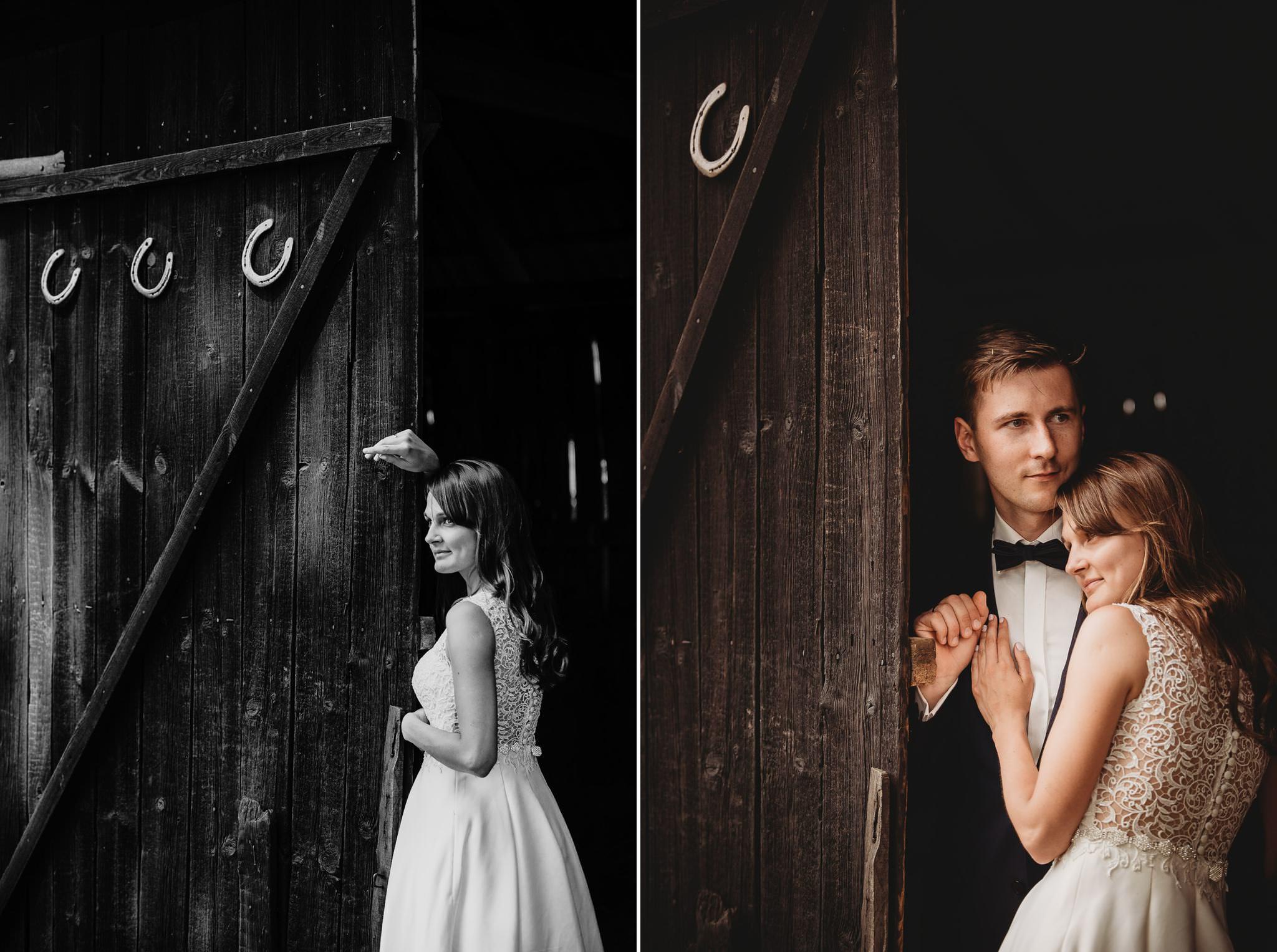 Monika i Michał, wesele w Paryżu i sesja plenerowa w stadninie koni w Czołowie 360