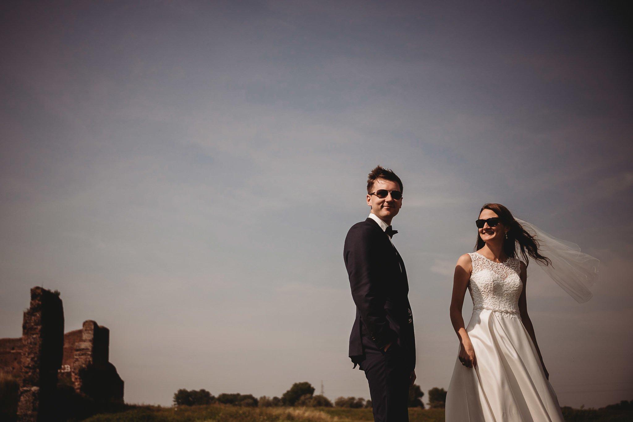 Monika i Michał, wesele w Paryżu i sesja plenerowa w stadninie koni w Czołowie 310