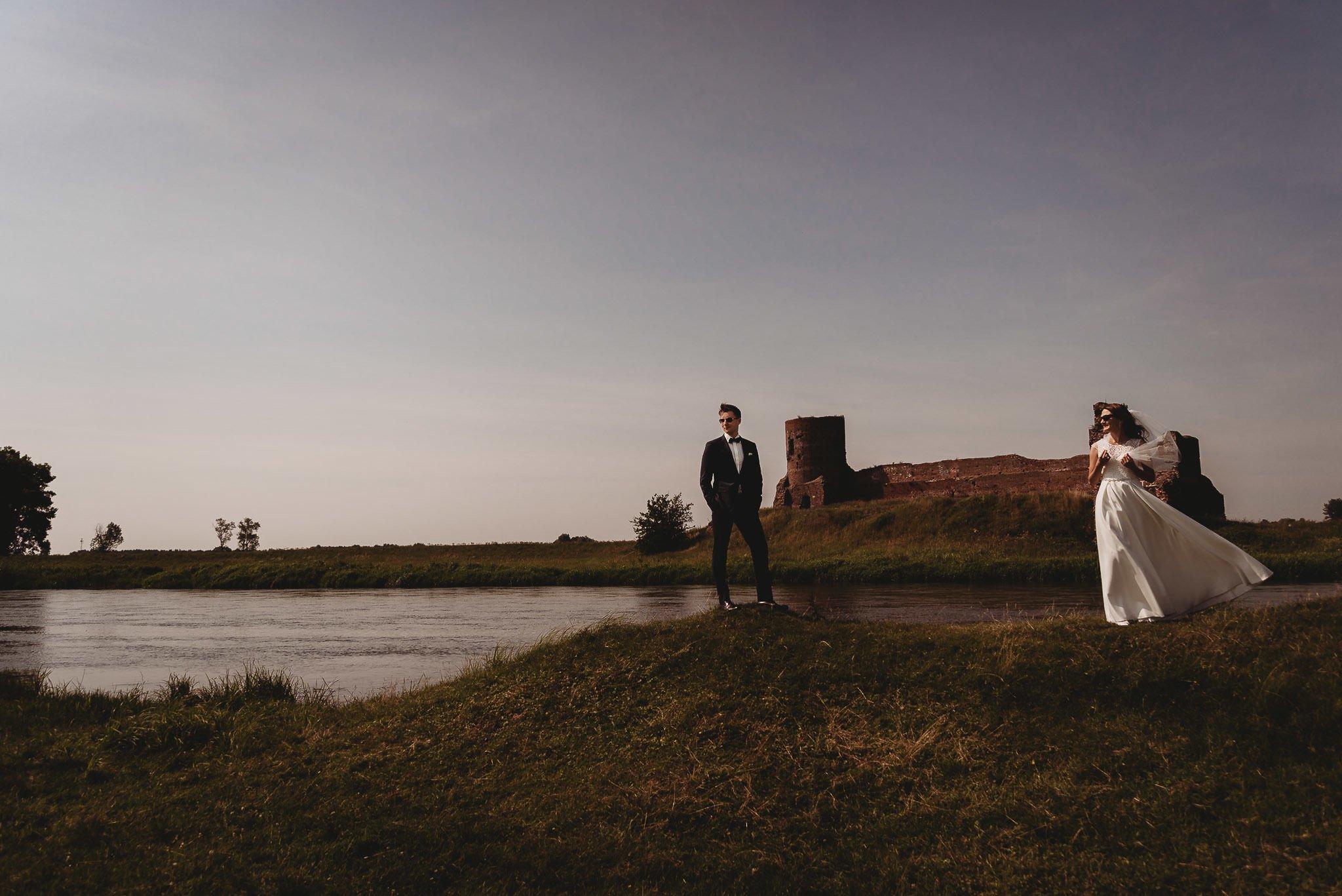 Monika i Michał, wesele w Paryżu i sesja plenerowa w stadninie koni w Czołowie 314