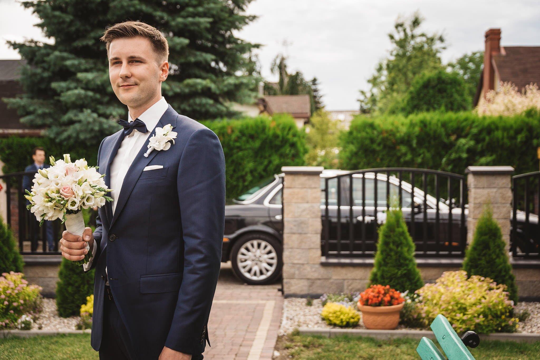 Monika i Michał, wesele w Paryżu i sesja plenerowa w stadninie koni w Czołowie 53
