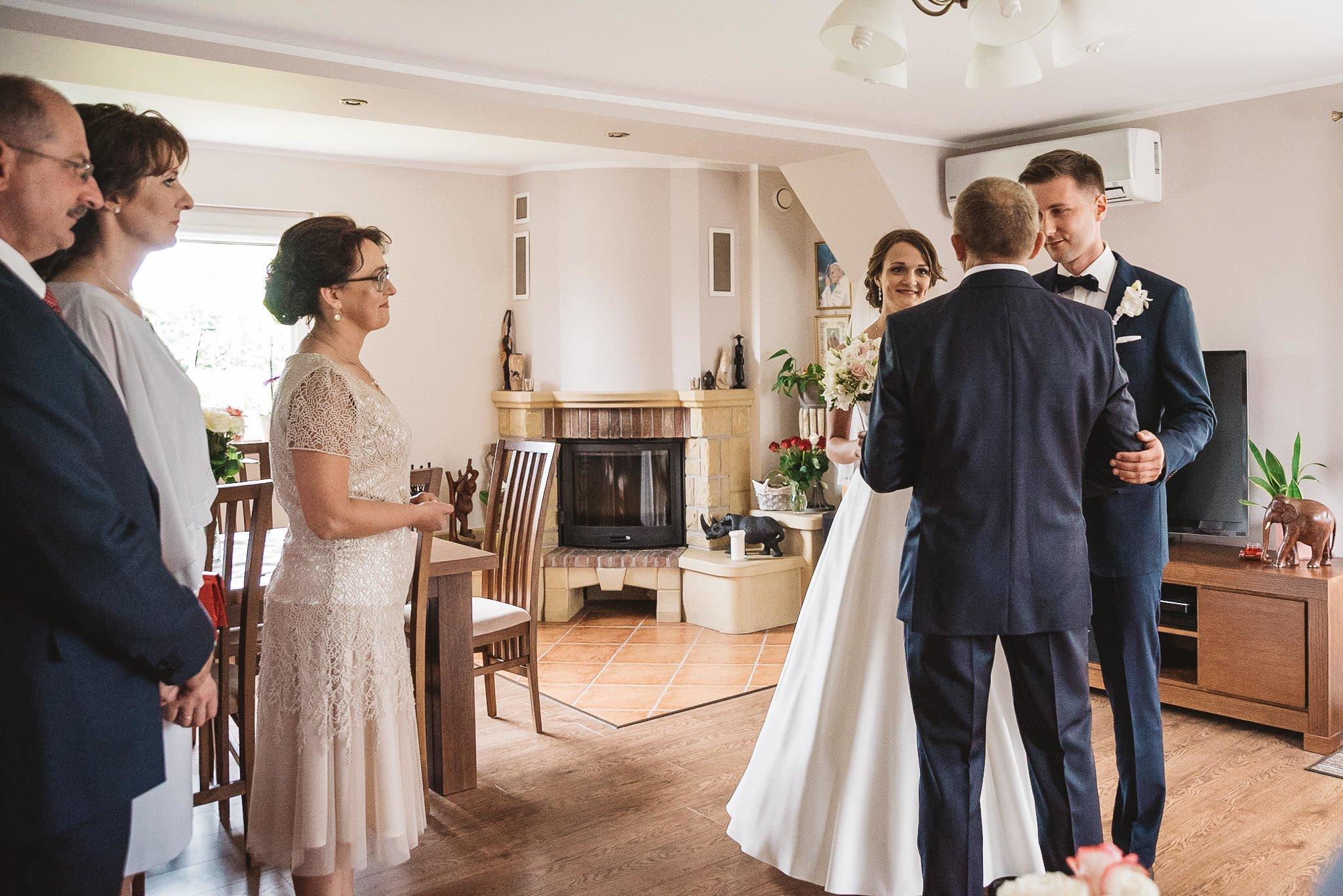 Monika i Michał, wesele w Paryżu i sesja plenerowa w stadninie koni w Czołowie 55