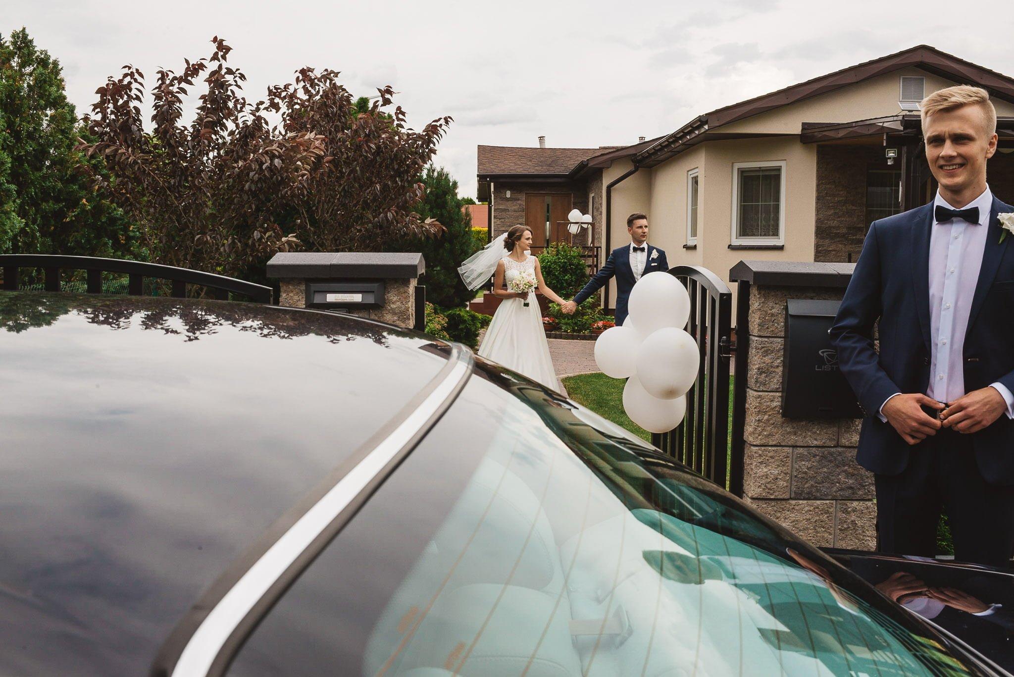 Monika i Michał, wesele w Paryżu i sesja plenerowa w stadninie koni w Czołowie 66
