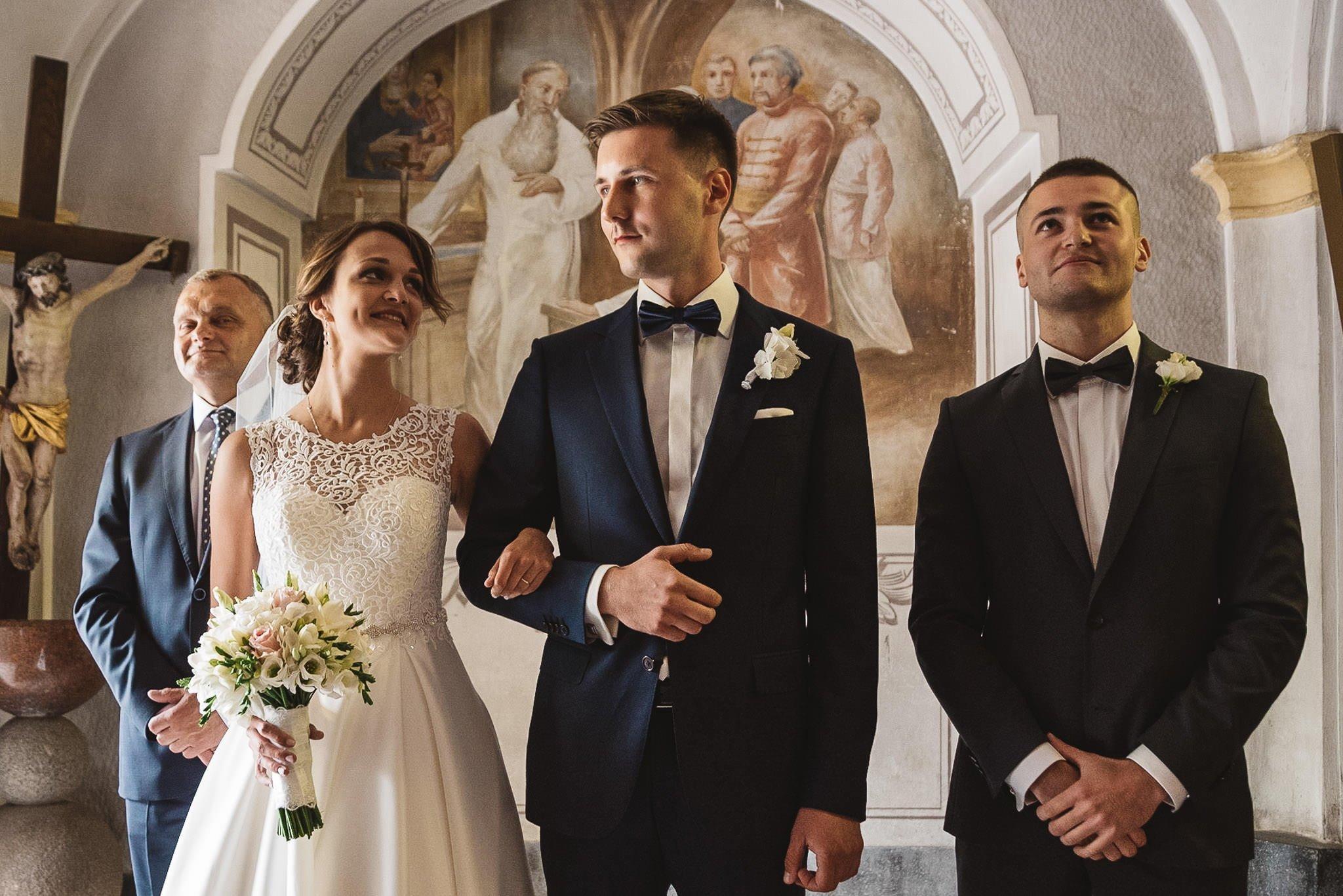 Monika i Michał, wesele w Paryżu i sesja plenerowa w stadninie koni w Czołowie 92