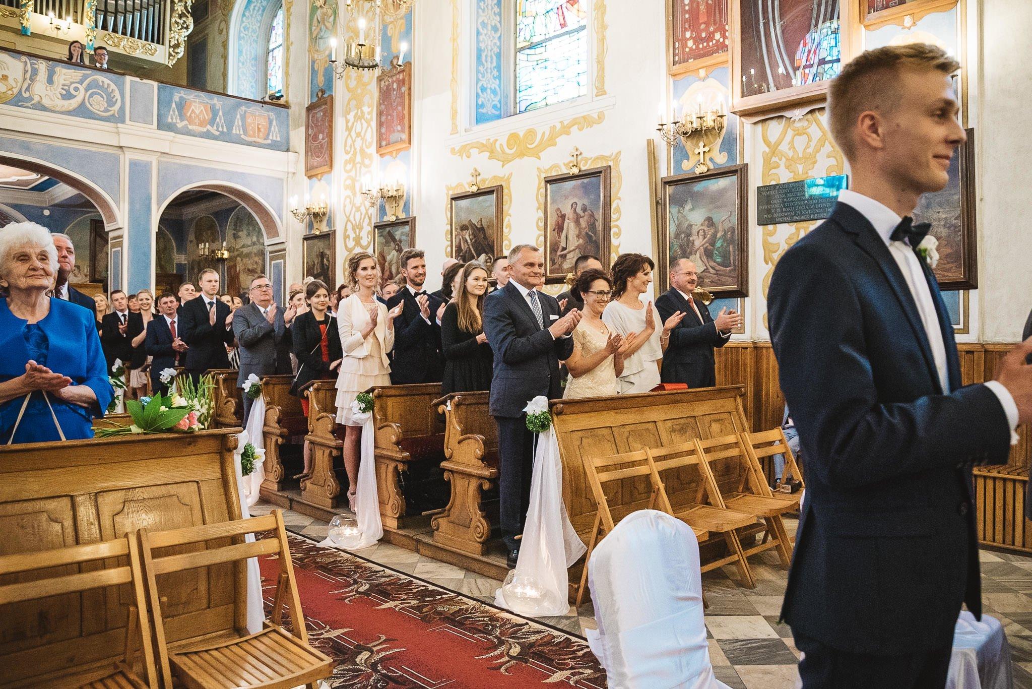 Monika i Michał, wesele w Paryżu i sesja plenerowa w stadninie koni w Czołowie 128