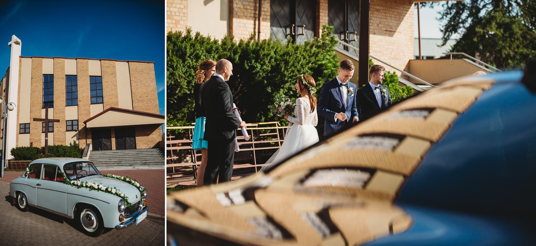 Fantastyczny ślub w stylu rustykalnym, wesele w Kapitańskiej  fotograf ślubny Konin 85
