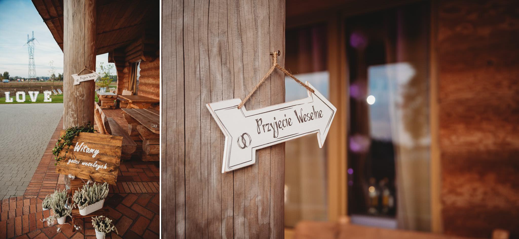 Fantastyczny ślub w stylu rustykalnym, wesele w Kapitańskiej  fotograf ślubny Konin 199