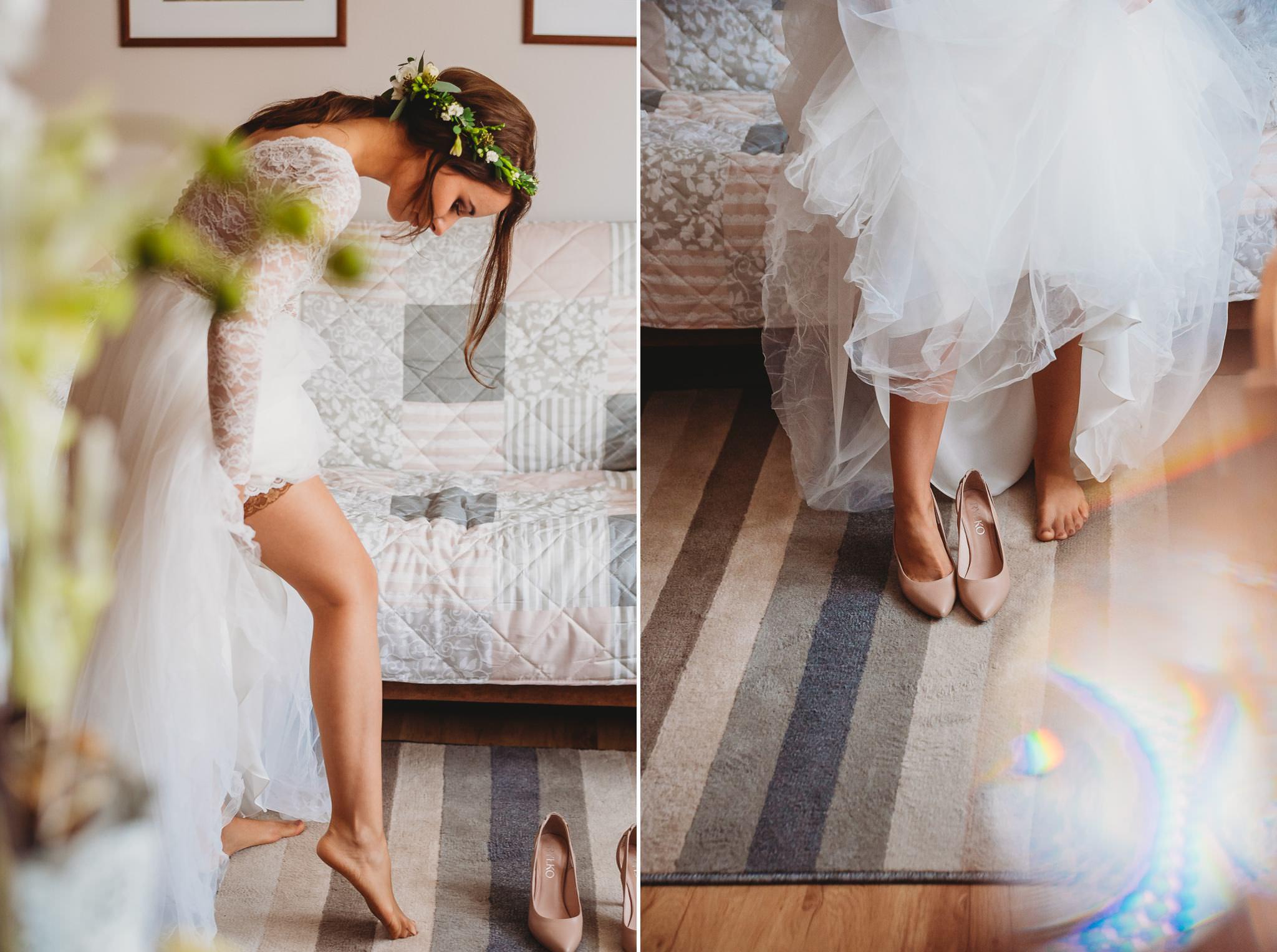 Fantastyczny ślub w stylu rustykalnym, wesele w Kapitańskiej  fotograf ślubny Konin 37