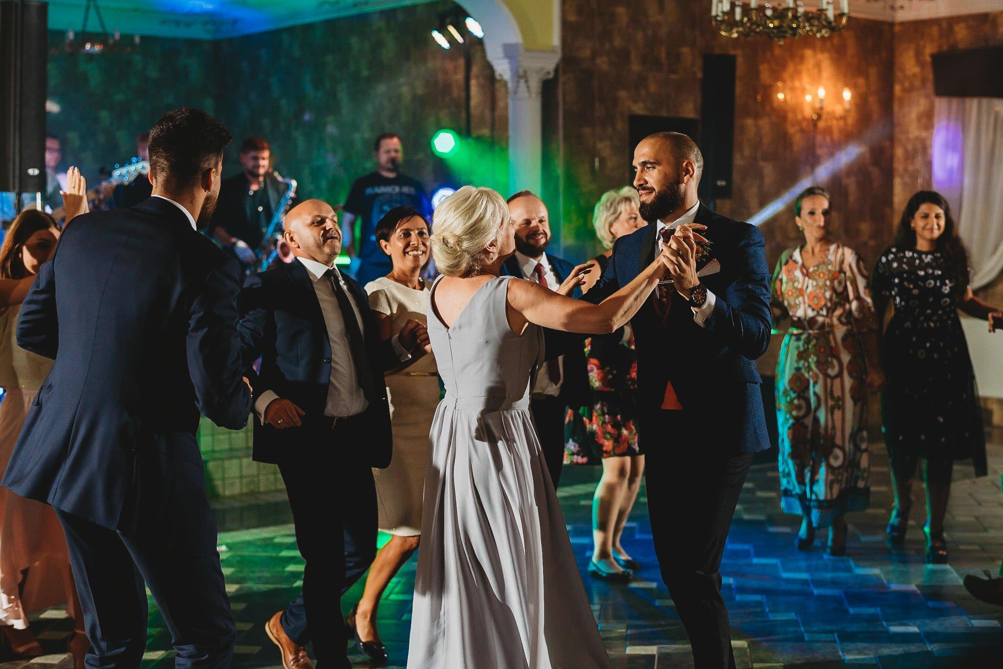 zabawa weselna, ślub, rodzina, Jarocin