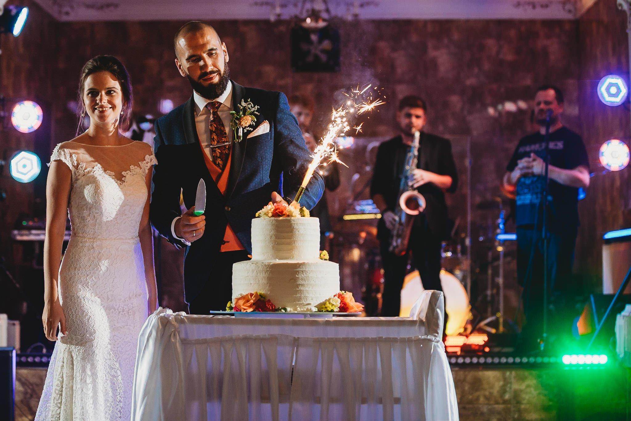 tort, wesele, para młoda, Jarocin,