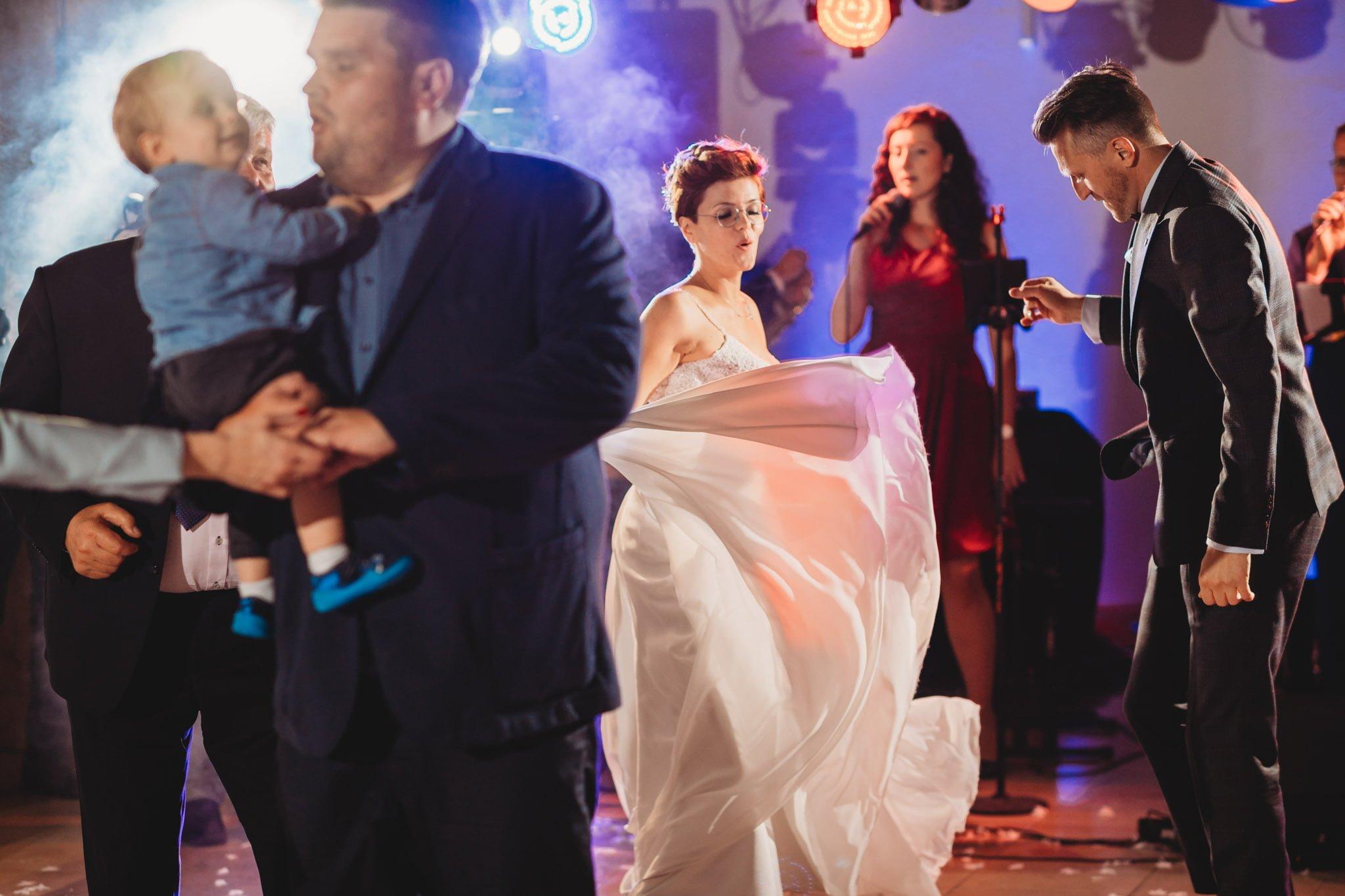 wspaniała impreza weselna do białego rana
