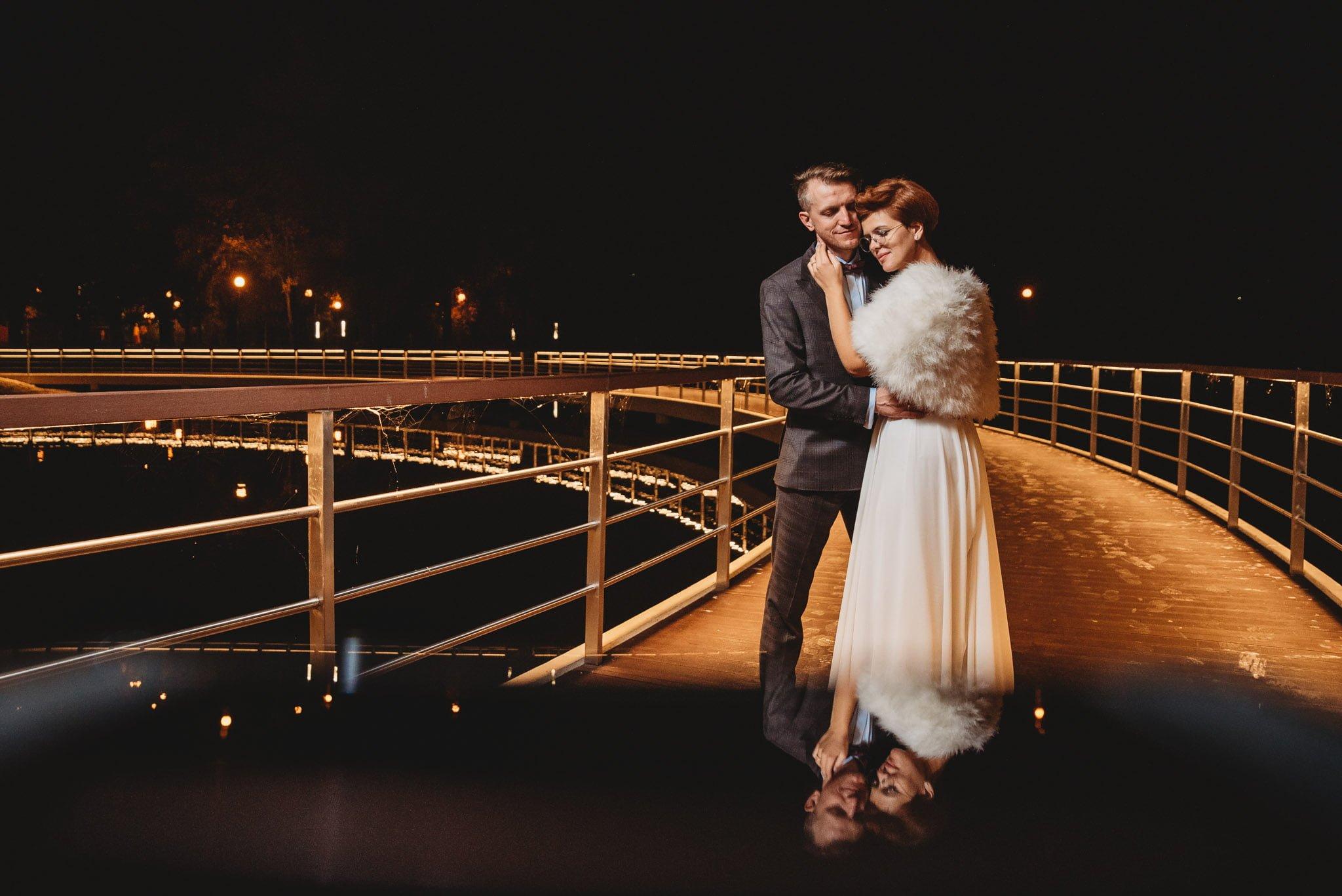 para młoda, mini sesja plenerowa tego samego dnia, fotografia ślubna