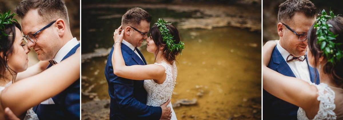 Mustangiem do ślubu! Plener ślubny Asi i Tomka - Kolorowe Jeziorka. 285