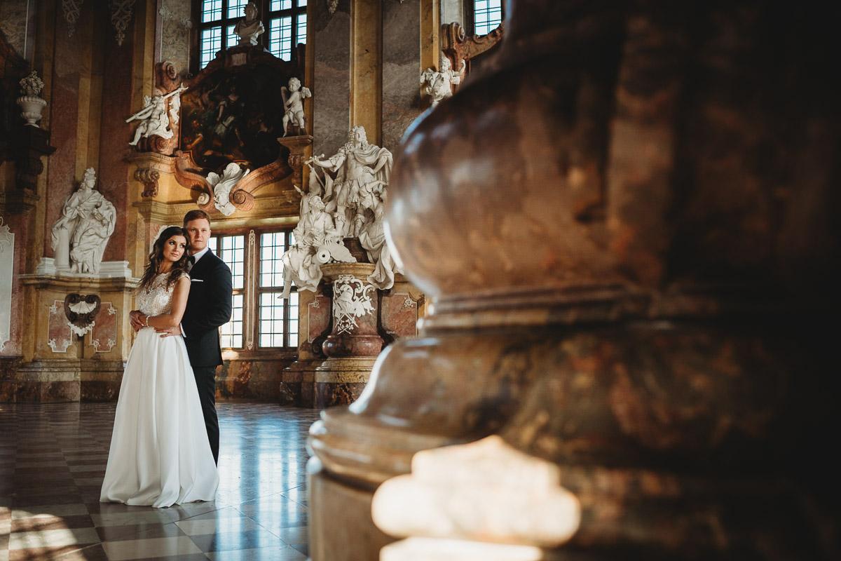 Dorota i Tomasz-wesele Hotel Kristoff Kalisz, sesja ślubna w Lubiążu 435