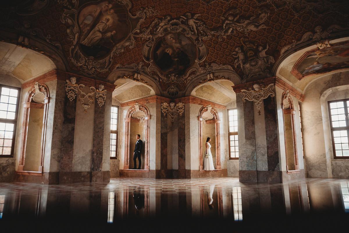Dorota i Tomasz-wesele Hotel Kristoff Kalisz, sesja ślubna w Lubiążu 455