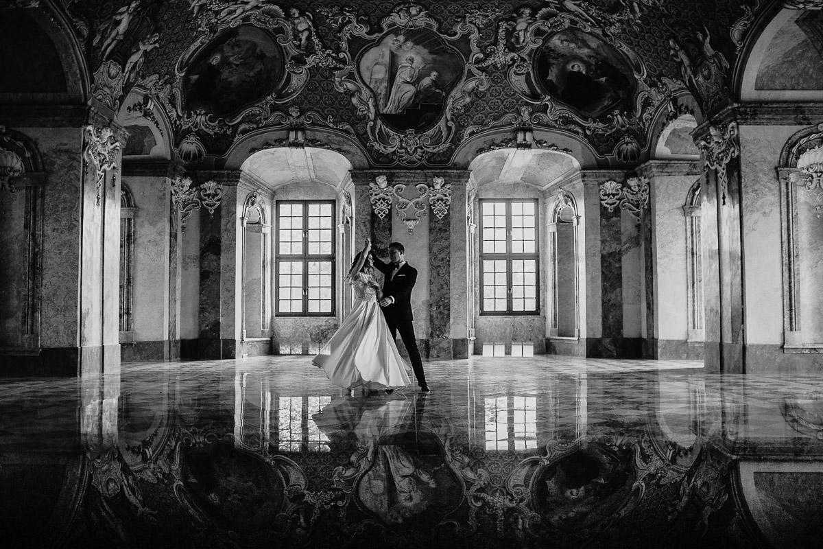 Dorota i Tomasz-wesele Hotel Kristoff Kalisz, sesja ślubna w Lubiążu 479