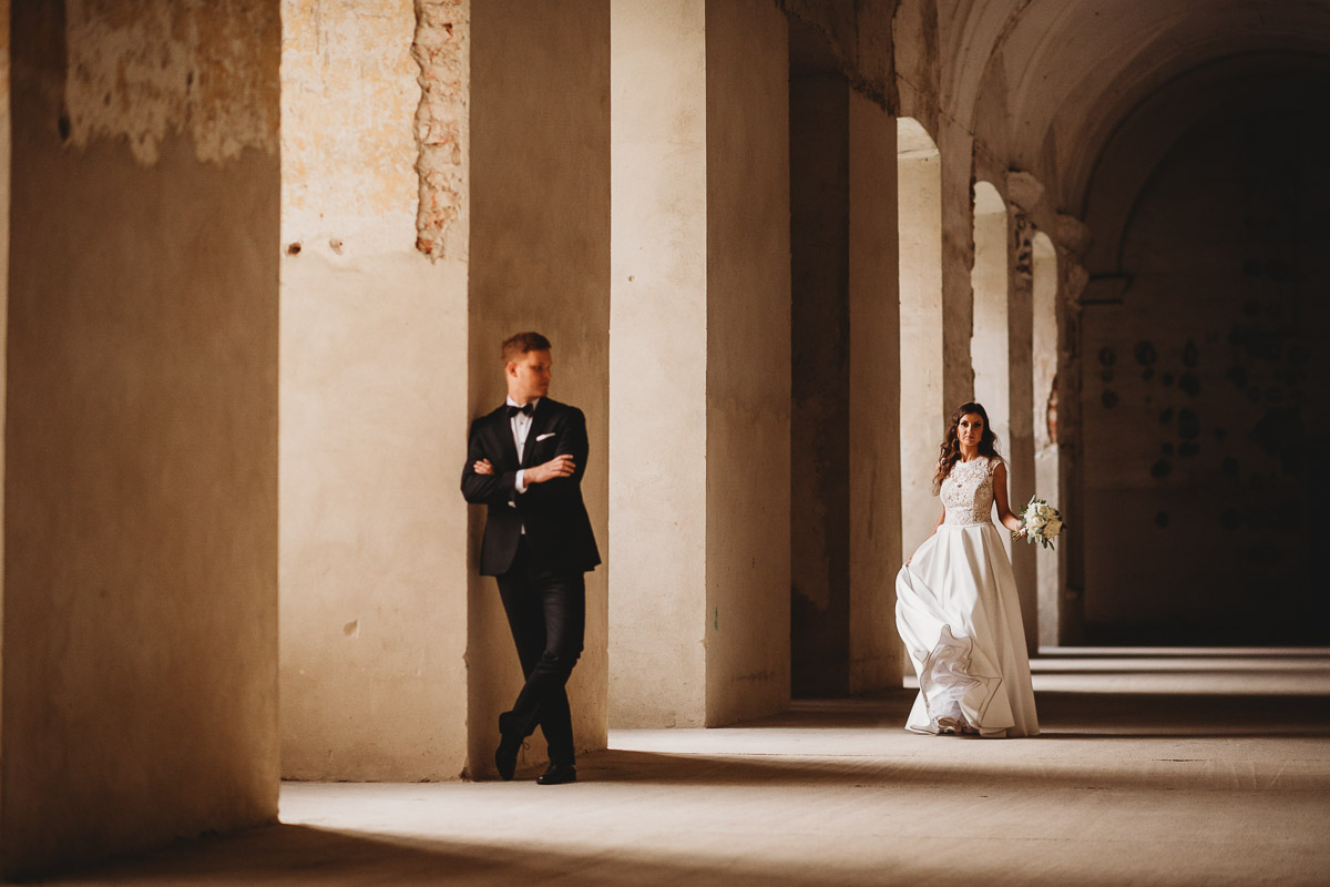 Dorota i Tomasz-wesele Hotel Kristoff Kalisz, sesja ślubna w Lubiążu 485