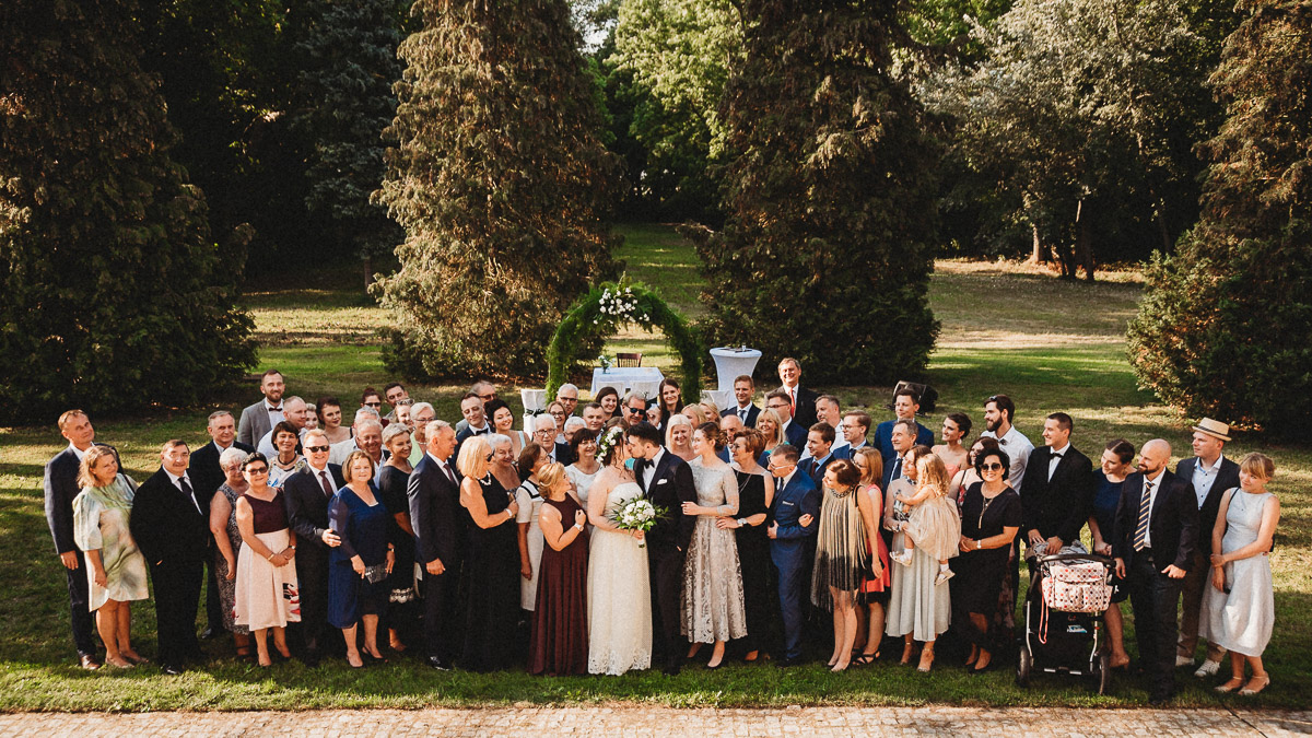 Ślub plenerowy Ani i Mateusza w Pałacu w Gułtowach koło Poznania 224