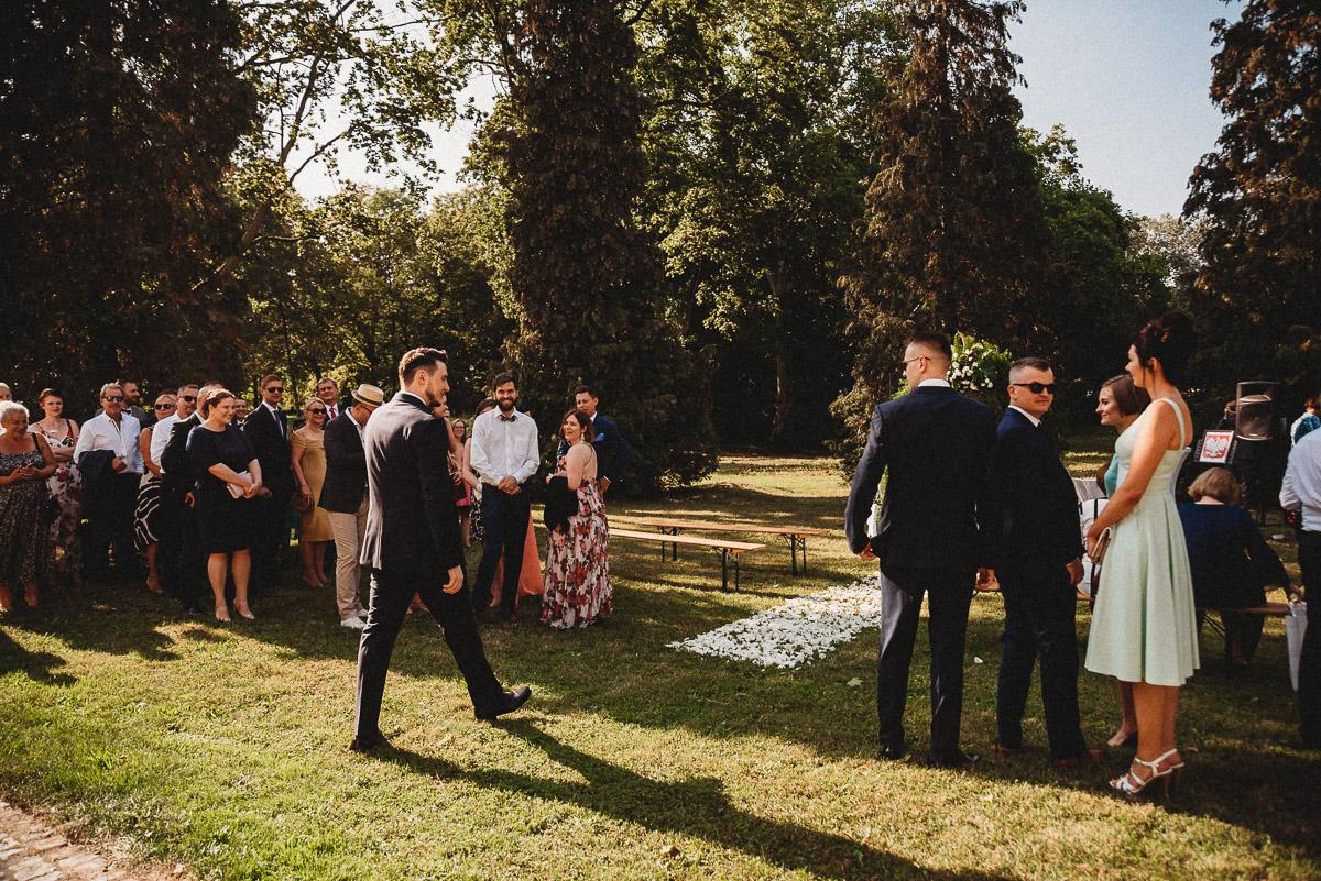 Ślub plenerowy Ani i Mateusza w Pałacu w Gułtowach koło Poznania 95