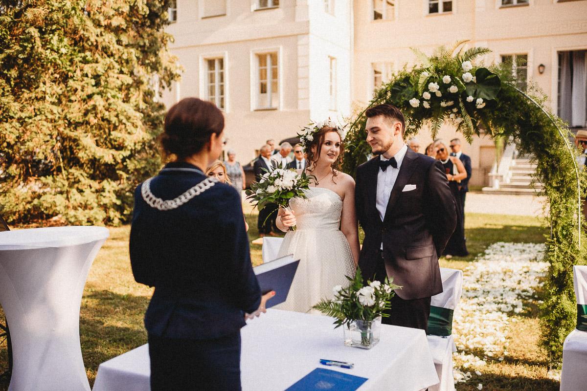 Ślub plenerowy Ani i Mateusza w Pałacu w Gułtowach koło Poznania 119
