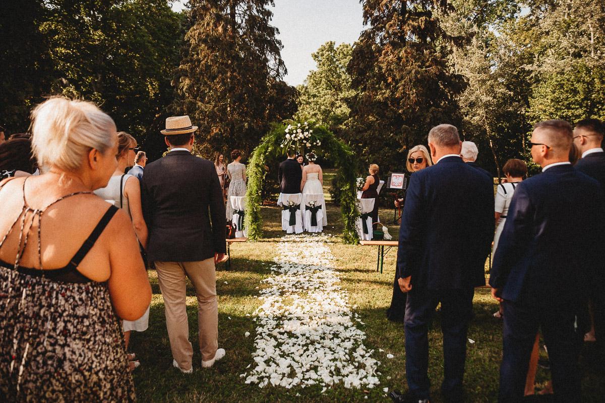 Ślub plenerowy Ani i Mateusza w Pałacu w Gułtowach koło Poznania 121