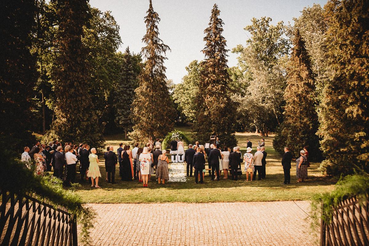 Ślub plenerowy Ani i Mateusza w Pałacu w Gułtowach koło Poznania 123