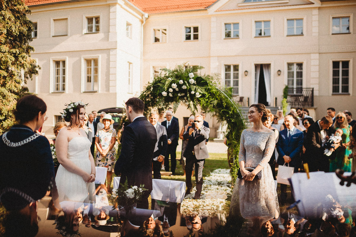 Ślub plenerowy Ani i Mateusza w Pałacu w Gułtowach koło Poznania 145